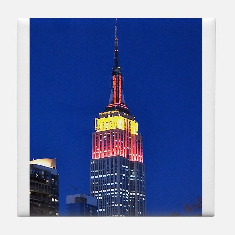 Empire State Building: No.2 Tile Coaster
