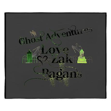 Ghost Adventures King Duvet
