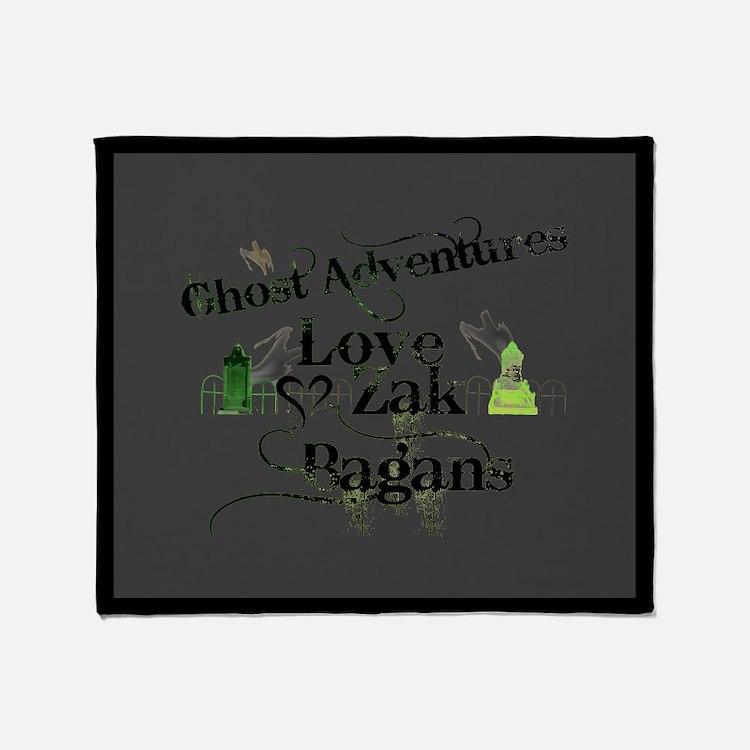 Ghost Adventures Throw Blanket
