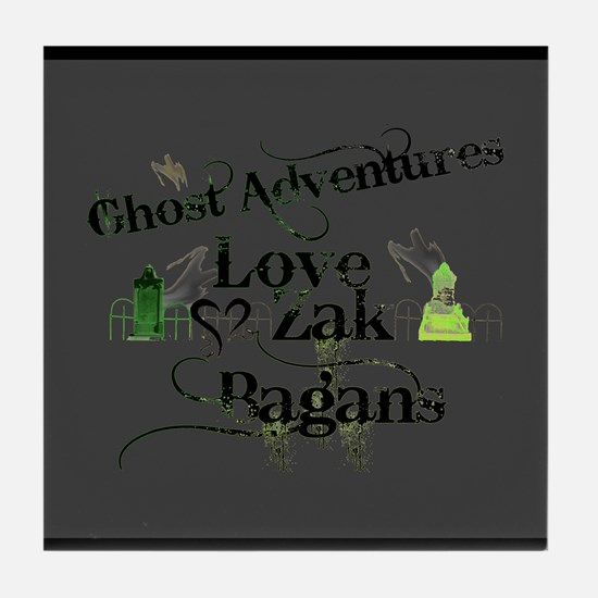 Ghost Adventures Tile Coaster