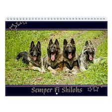 2013 Semper Fi Shilohs Wall Calendar