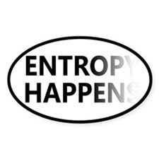 Entropy Happens Fade Decal