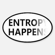 Entropy Happens Fade Decal