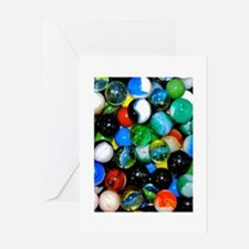 Marbles! Greeting Card
