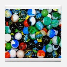 Marbles! Tile Coaster