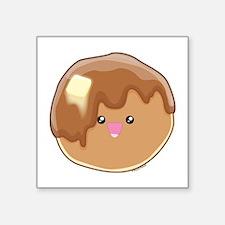 "Pancake! Square Sticker 3"" x 3"""