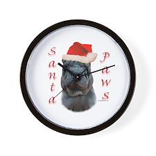 Shar Pei Paws Wall Clock