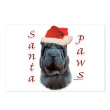 Shar Pei Paws Postcards (Package of 8)