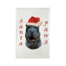 Shar Pei Paws Rectangle Magnet