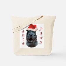 Shar Pei Paws Tote Bag
