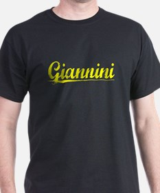 Giannini, Yellow T-Shirt
