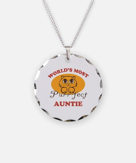 One Purrfect Auntie Necklace