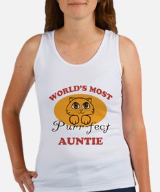 One Purrfect Auntie Women's Tank Top