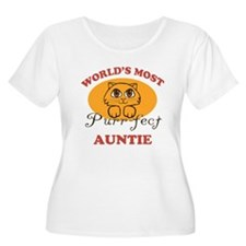One Purrfect Auntie T-Shirt