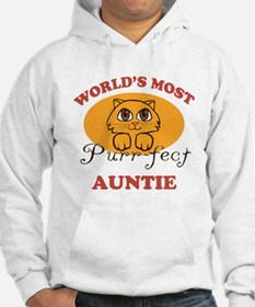 One Purrfect Auntie Hoodie