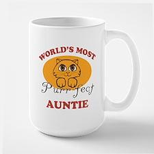 One Purrfect Auntie Mug