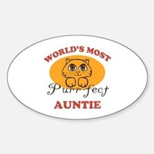 One Purrfect Auntie Decal