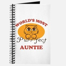 One Purrfect Auntie Journal