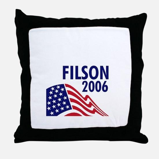 Filson 06 Throw Pillow