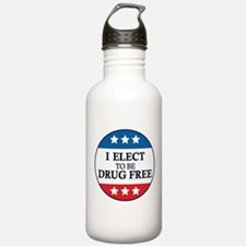 Drug Free Pin Water Bottle