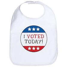 I Voted Today Bib