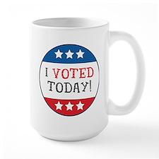 I Voted Today Mug