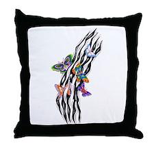Butterflies Set Free Throw Pillow
