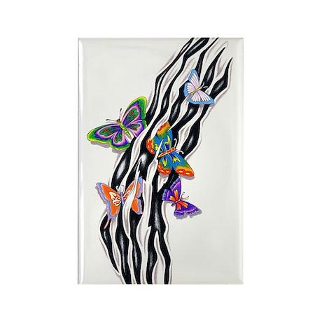 Butterflies Set Free Rectangle Magnet