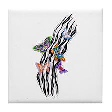 Butterflies Set Free Tile Coaster