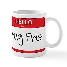 Hello Im Drug Free Mug