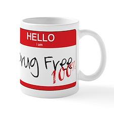 100% Drug Free Mug