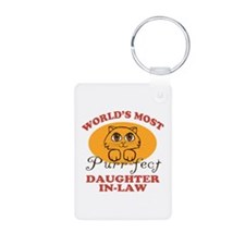 One Purrfect Daughter-In-Law Keychains