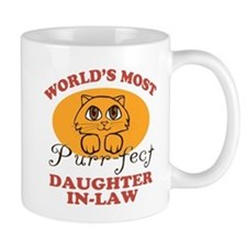 One Purrfect Daughter-In-Law Mug