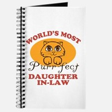 One Purrfect Daughter-In-Law Journal