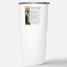 Funny Labrador Travel Mug