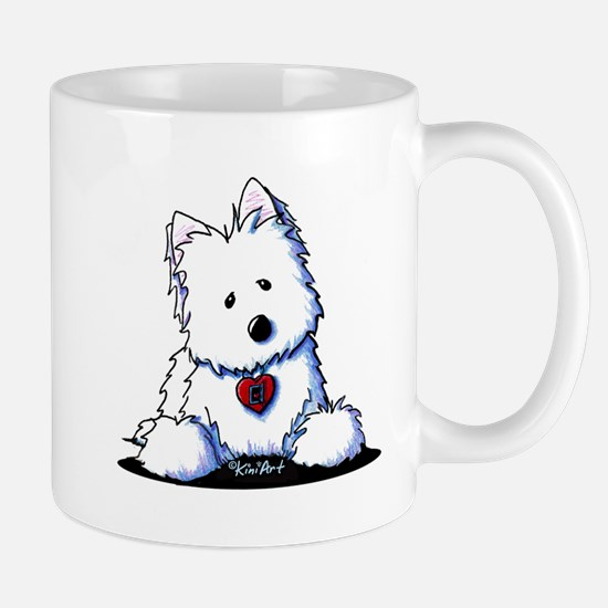 Westie Doorway To My Heart Mug