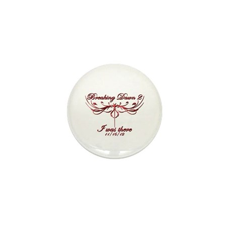 Breaking Dawn 2 I was there Mini Button (10 pack)