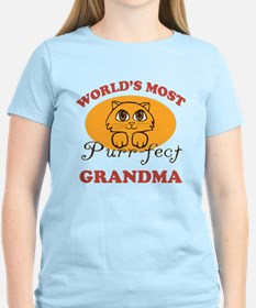 One Purrfect Grandma T-Shirt