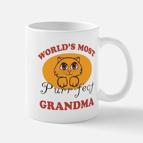 One Purrfect Grandma Mug