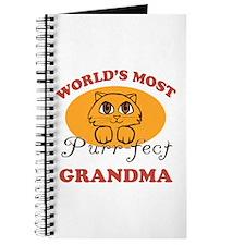 One Purrfect Grandma Journal