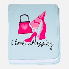 Divas Shopping baby blanket