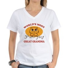 One Purrfect Great Grandma Shirt