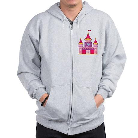 Princess Castle Zip Hoodie