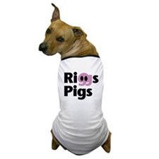 Riggs Pigs - Dog T-Shirt