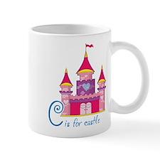 Pink Princess Castle Mug