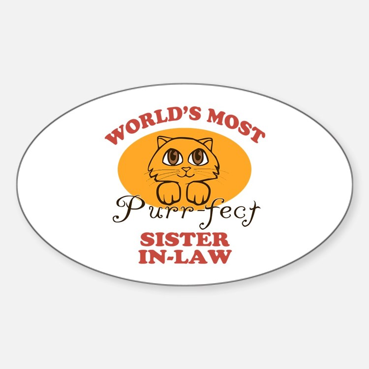 One Purrfect Sister-In-Law Decal