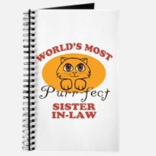 One Purrfect Sister-In-Law Journal