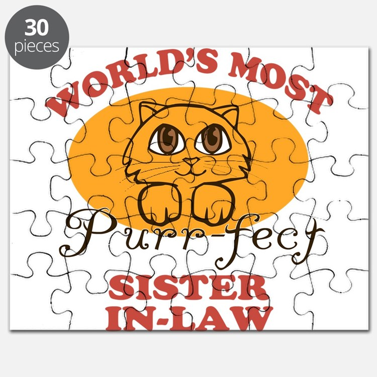 One Purrfect Sister-In-Law Puzzle
