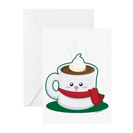 hotchocolate Greeting Cards