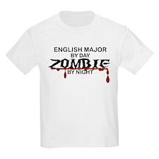 English Major Zombie T-Shirt